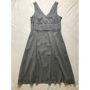JCrew Sophia Dress in Graphite sz 14
